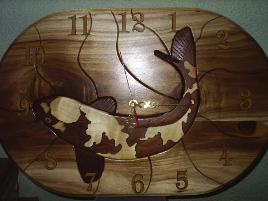Koi Clocks S3000038