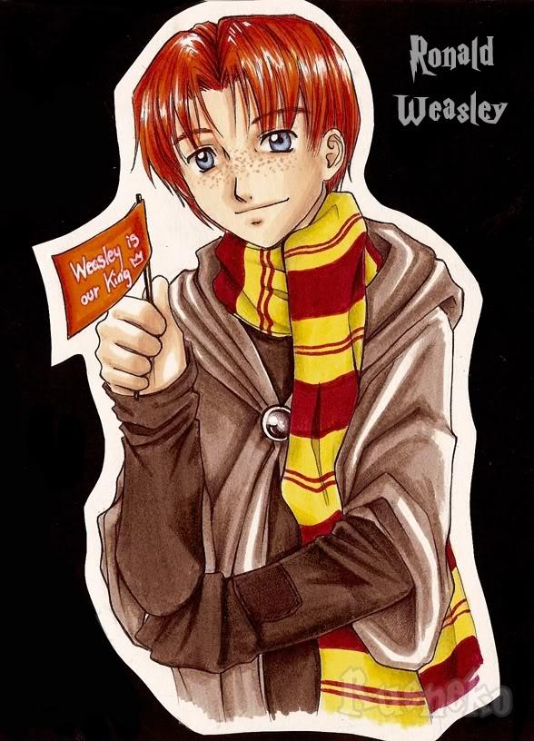 Harry Potter anime [Megapost] Ron