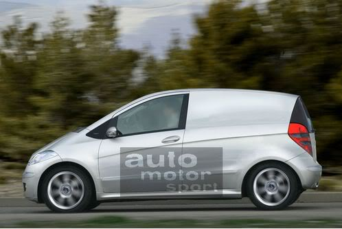 Mercedes segue BMW e também deve lançar pick up esportiva Mercedes-A-Klasse-Lieferwagen