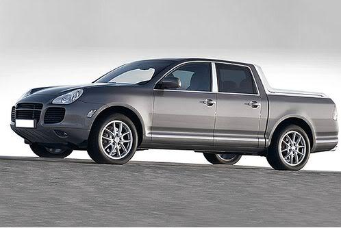Mercedes segue BMW e também deve lançar pick up esportiva Porsche-Cayenne-pickup