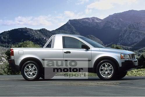 Mercedes segue BMW e também deve lançar pick up esportiva Volvo-XC-90-Pickup
