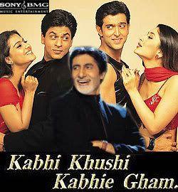 Posters Oficiales Kabhikushikabhigham