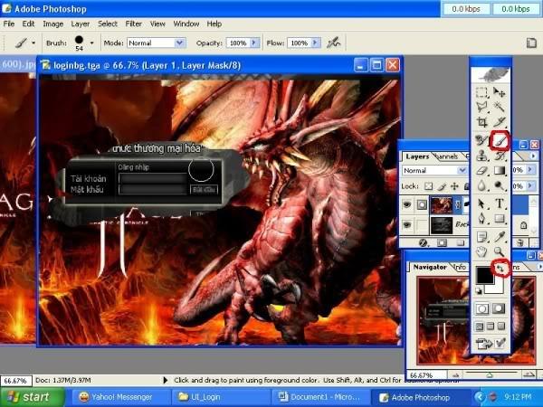 Thay đổi màn hình đăng nhập - (Login Screen) 70600x450