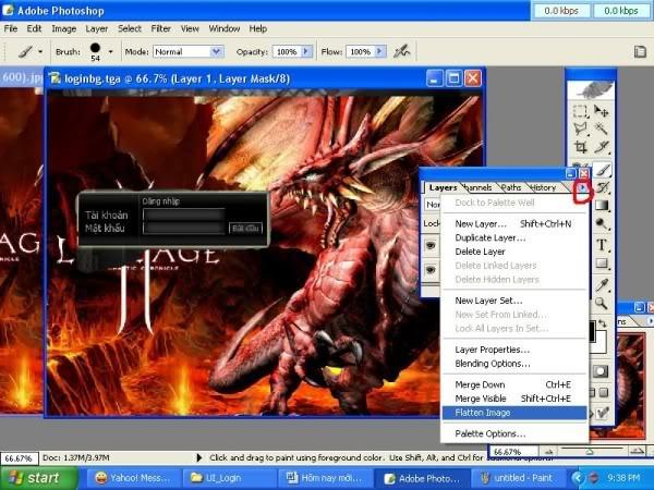 Thay đổi màn hình đăng nhập - (Login Screen) 7600x450
