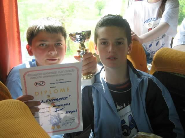 Kup Kosova  za Pionire Kuppionira2008158