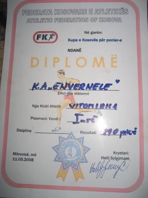 Kup Kosova  za Pionire Kuppionira2008170