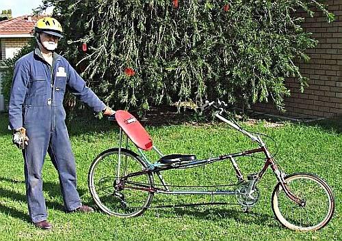 Recycledrecumbent TE clones Dicks-bike