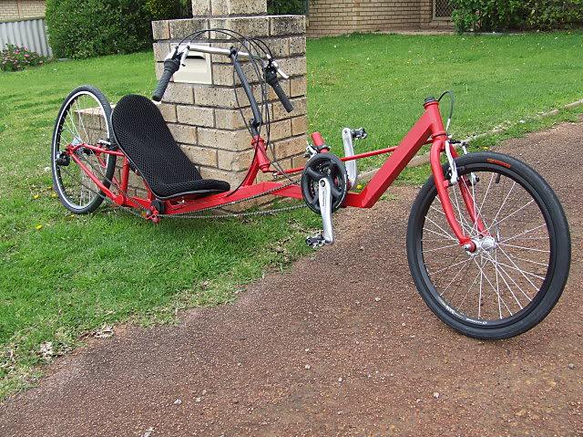 Marauder Low Racer Chain-side