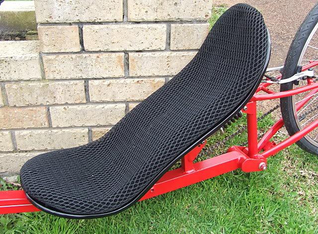 Marauder Low Racer Seat-on-bike2
