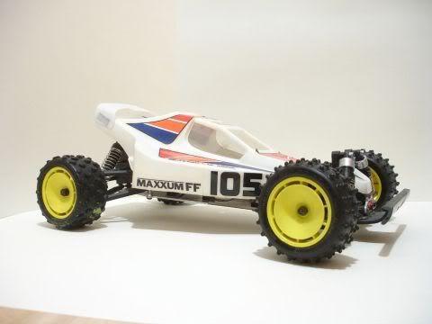 Kyosho Maxxum FF buggy 4-2