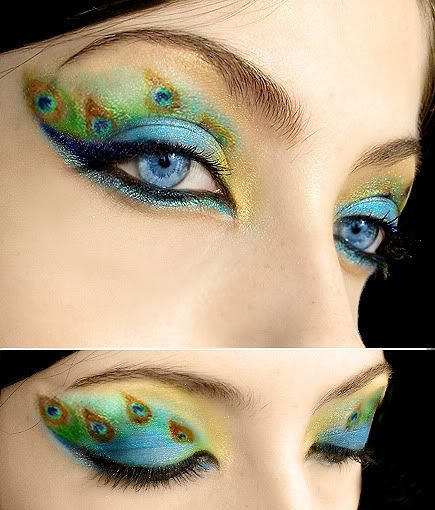 Zanimljivi make up - make up artist Peacock_make_up_2_by_Dead_Rose_16