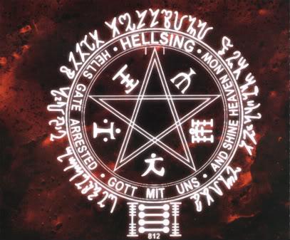El pentagrama de alucard Penta