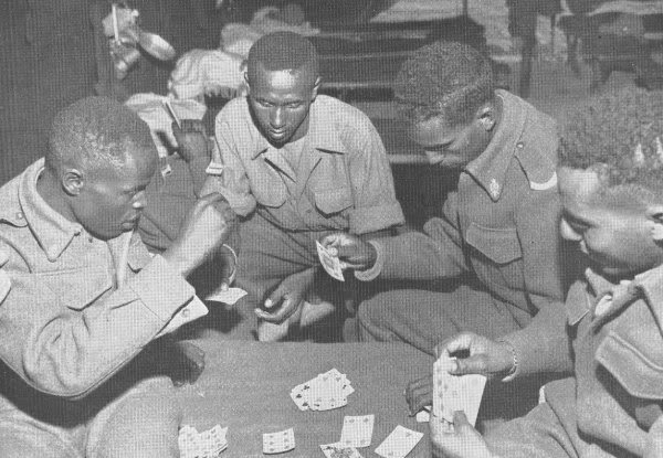 "Ethiopian ""Kagnew"" (Conquerors)  Battalion 21"