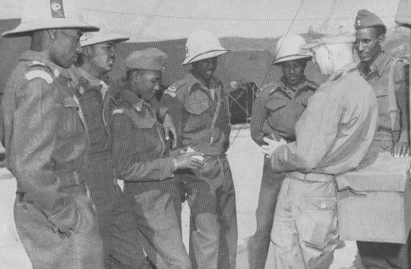 "Ethiopian ""Kagnew"" (Conquerors)  Battalion 46"