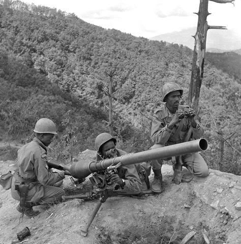 "Ethiopian ""Kagnew"" (Conquerors)  Battalion Ethiopian_soldiers_Korea1951"