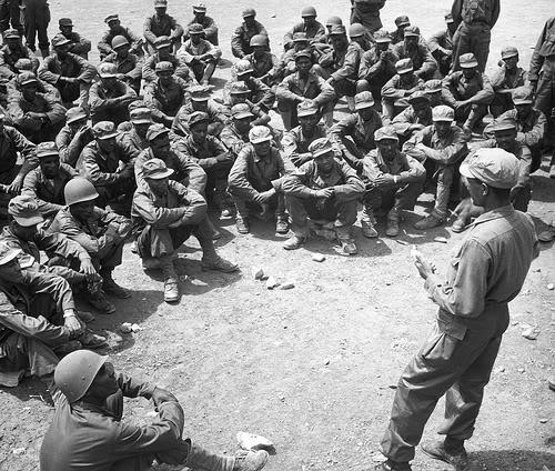 """Ethiopian """"Kagnew"""" (Conquerors)  Battalion EthiopiantroopstraininginKoreaAclas"""