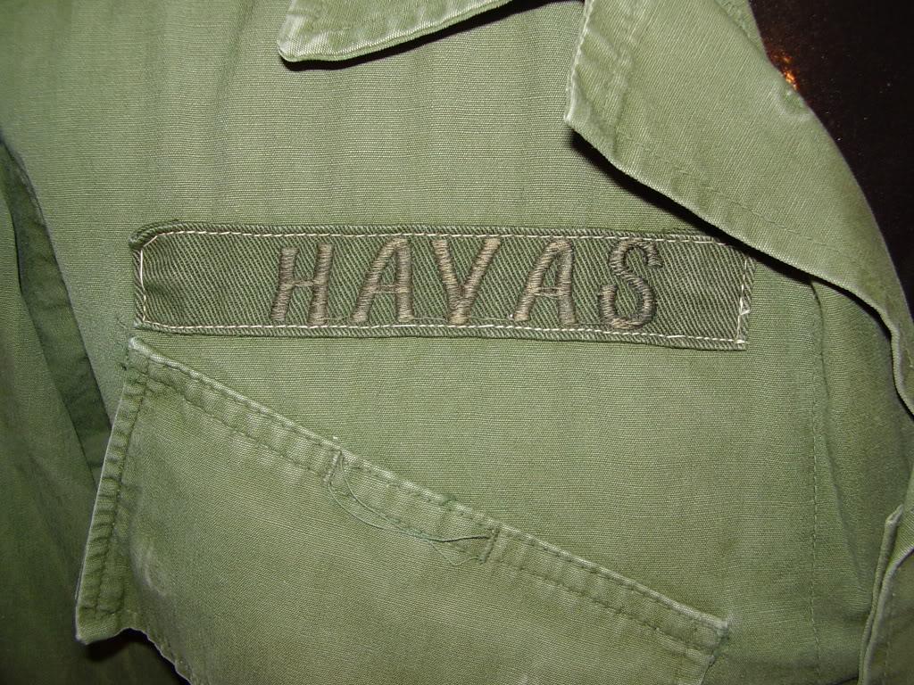 Rip-Stop Jungle Jacket of Captain David B. Havas, Commander Special Forces Det A-433 1968-69. Uniforms318