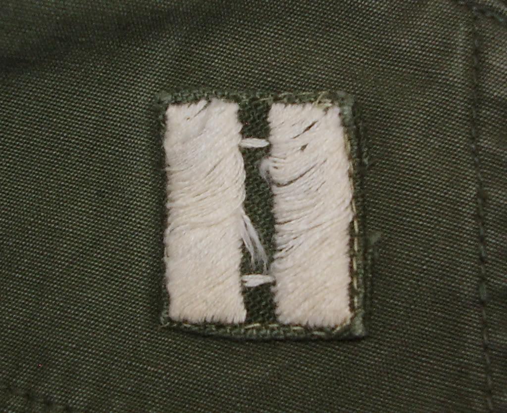 Rip-Stop Jungle Jacket of Captain David B. Havas, Commander Special Forces Det A-433 1968-69. Uniforms325_edited