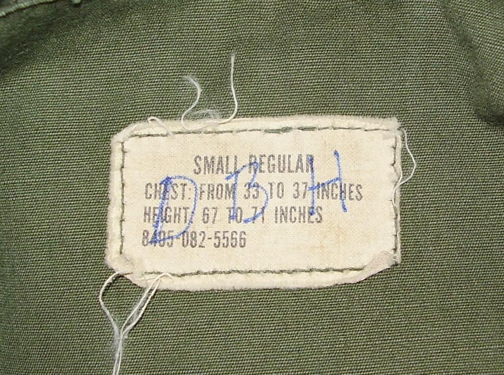 Rip-Stop Jungle Jacket of Captain David B. Havas, Commander Special Forces Det A-433 1968-69. Uniforms329_edited