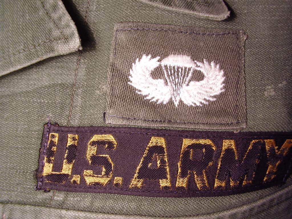 1st Pattern Fatigue of SFC Robert Allen Anspach, Det A-401 Mike Force KIA 11th Sept 1967. Uniforms386