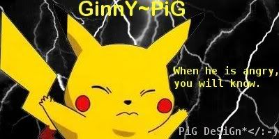 Got some of my creations for u Pikachusig