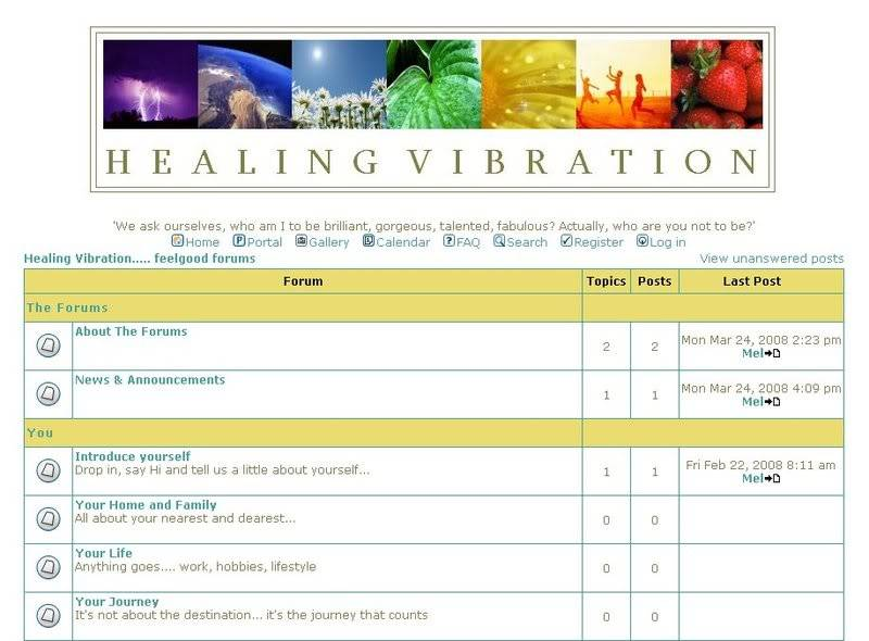 Healing Vibration Feelgood Forums Forumscr1