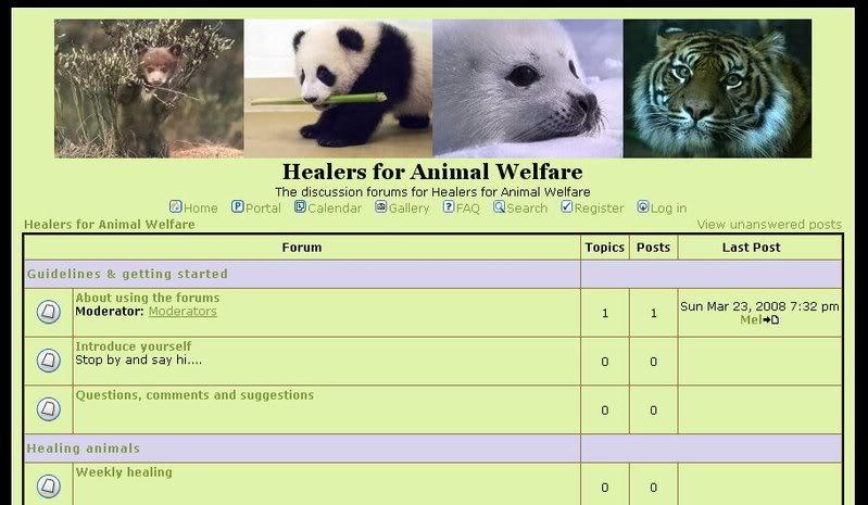 Healerr for Animal Welfare Forums Forumscr4