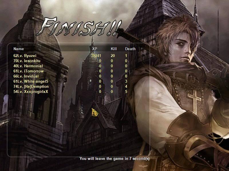 Jan 2nd clan event (duel match) Gunz304