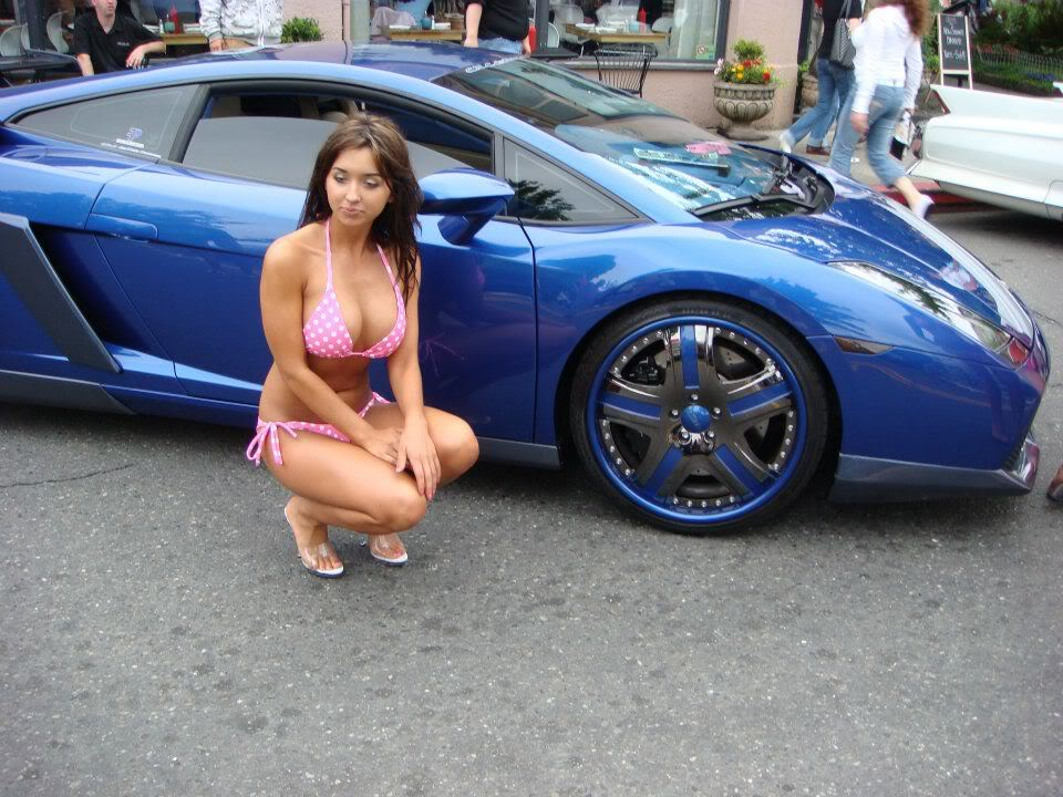 Sexy Bitches with Cars Thread. 208928_400497476674367_1417561945_n