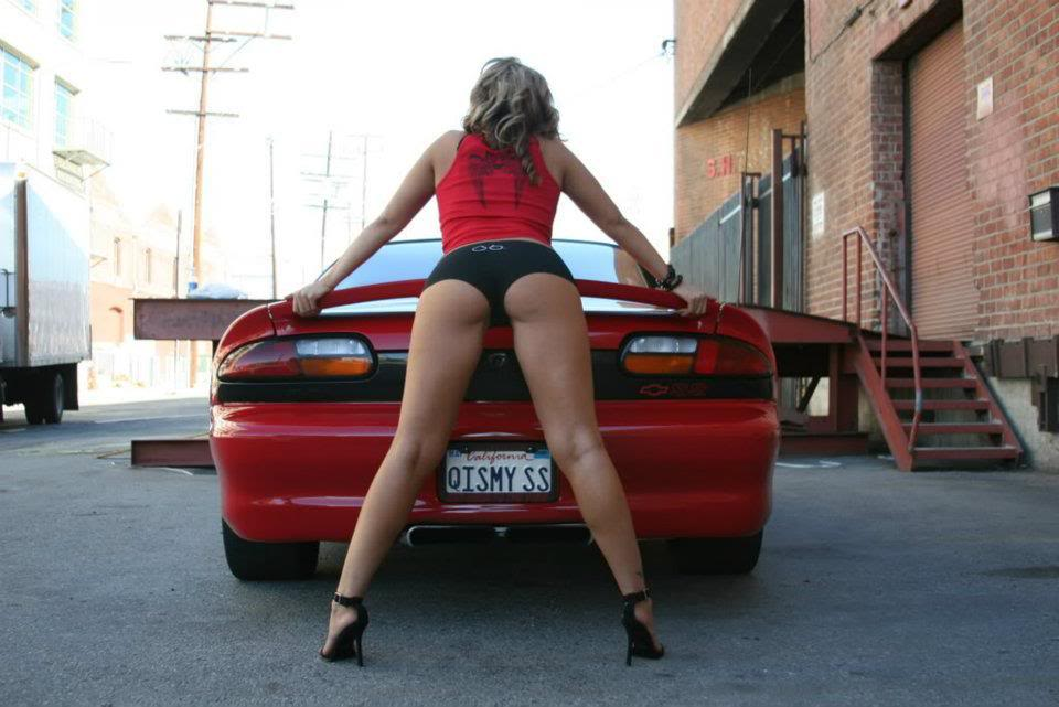 Sexy Bitches with Cars Thread. 314057_399481853442596_80237327_n