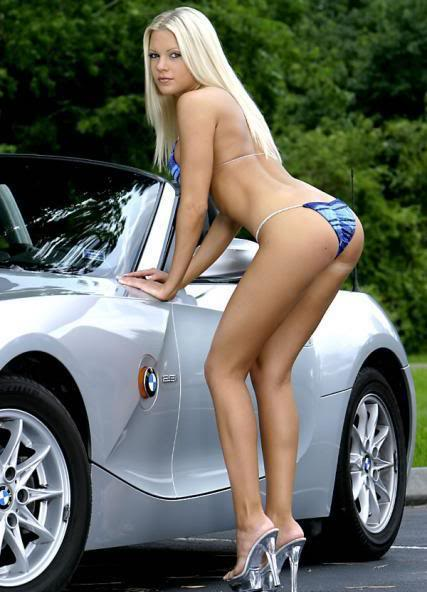 Sexy Bitches with Cars Thread. 480040_400497346674380_255114789_n