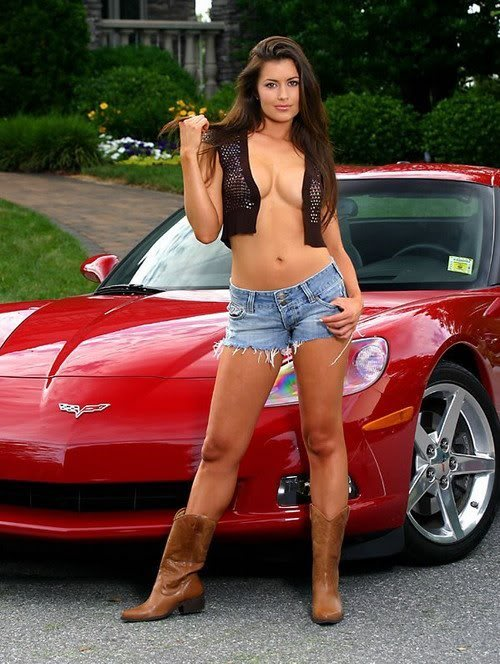 Sexy Bitches with Cars Thread. 548230_400497243341057_1398989055_n