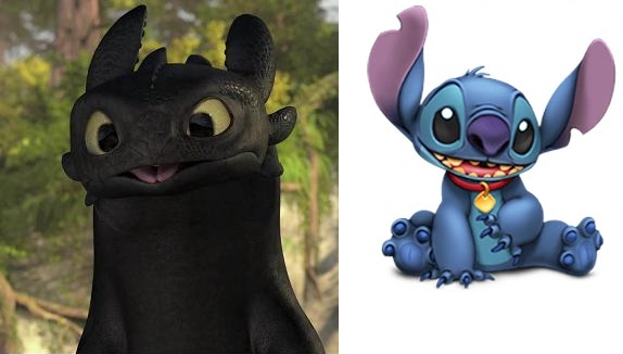 Toothless/Stitch the Dragon ToothlessModeledAfterStitch