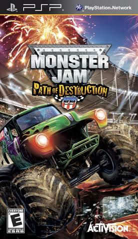 Monster Jam Path of Destruction Monsterjampod_psp