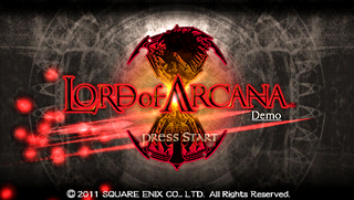 Lord Of Arcana [USA][DEMO] Patched for All CFW Screen1zw