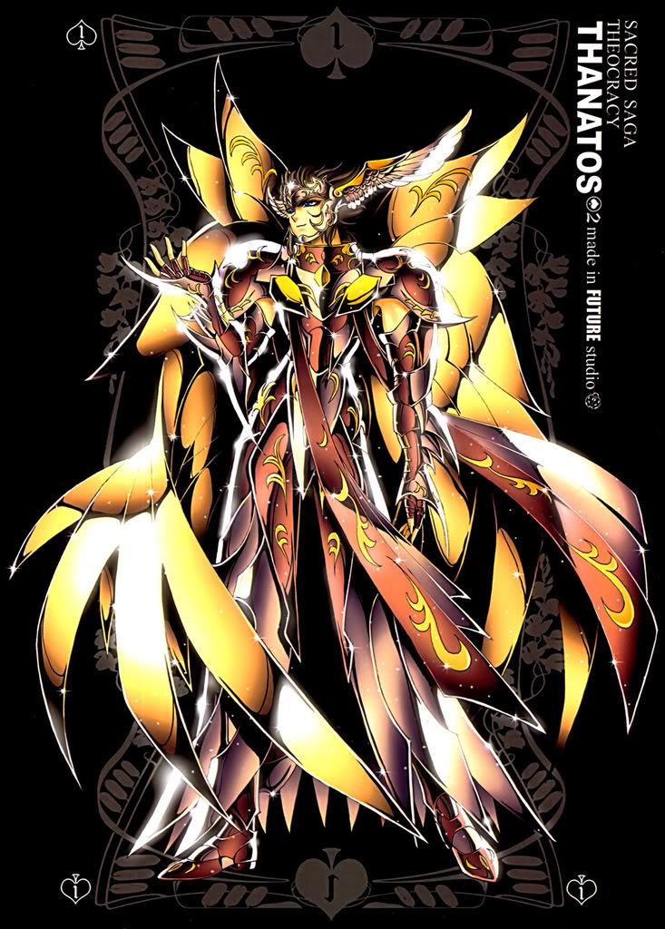 Sacred Sage Art Collection 1-Thanatos