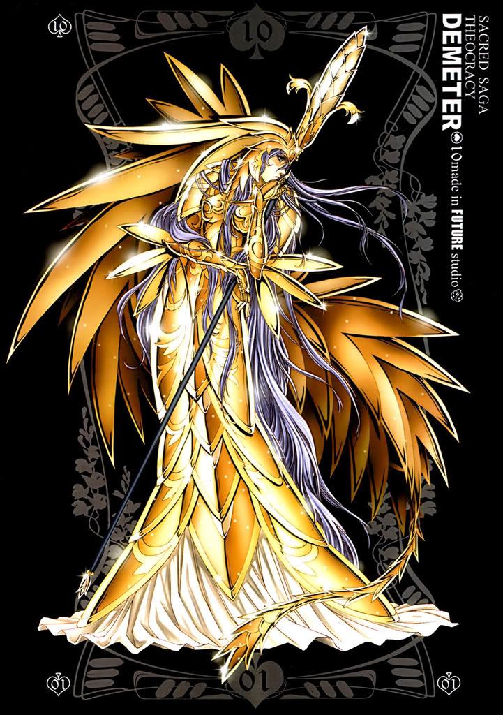 Sacred Sage Art Collection 10-Demeter