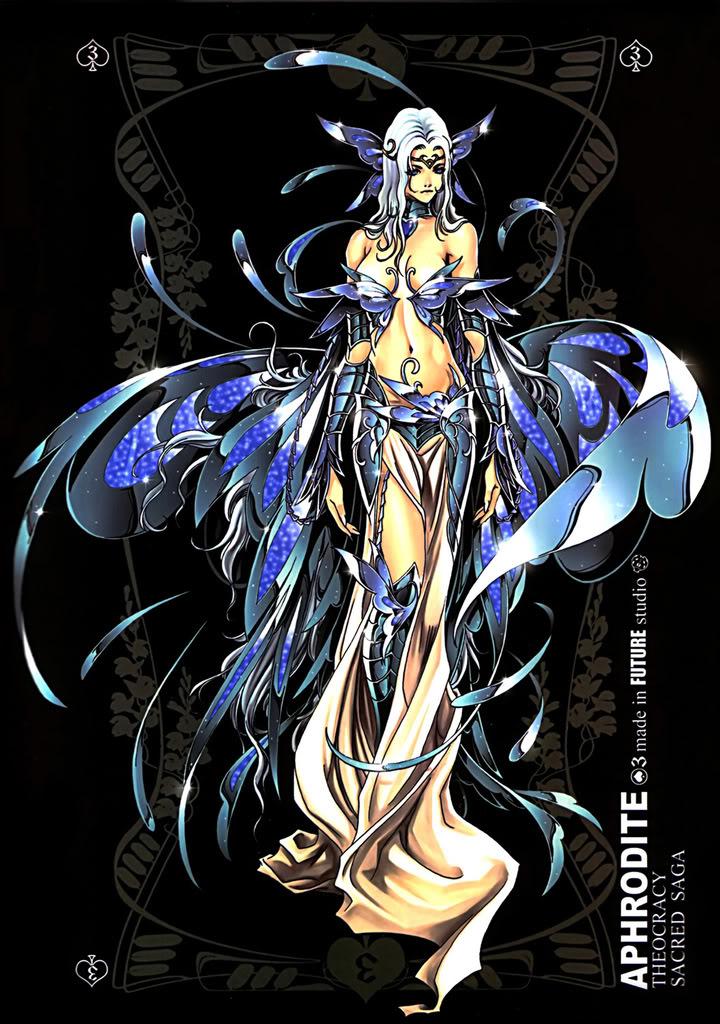 Sacred Sage Art Collection 3-Aphrodite
