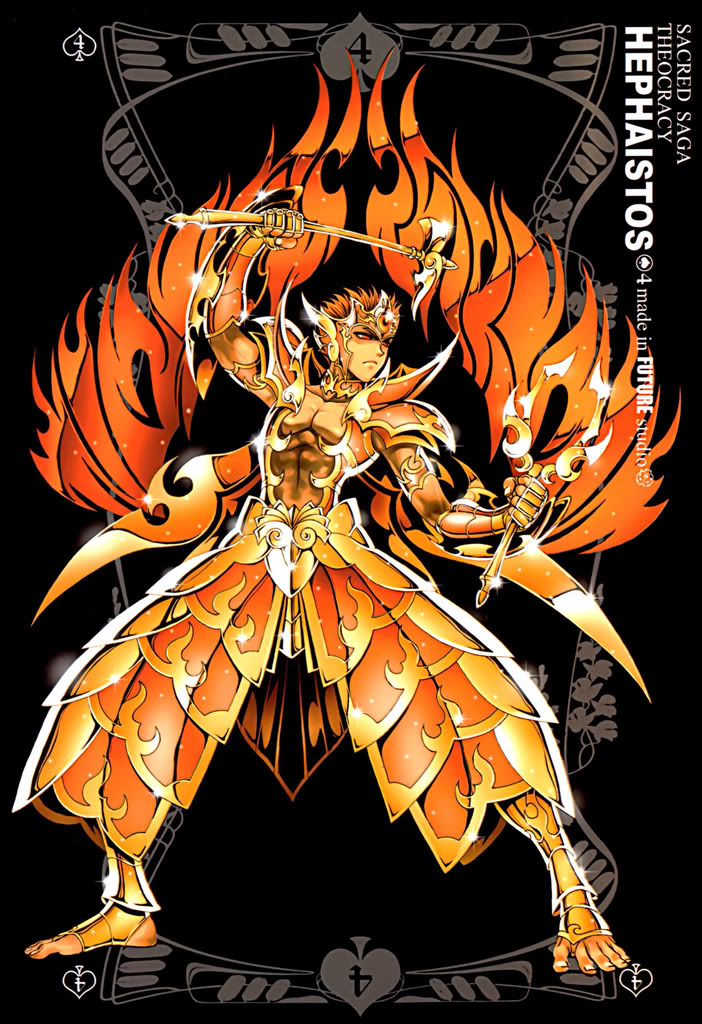 Sacred Sage Art Collection 4-Hephaistos