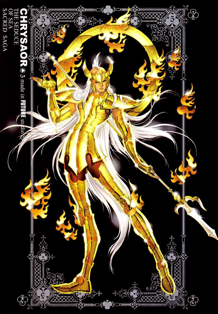 Sacred Sage Art Collection 5-Chrysaor