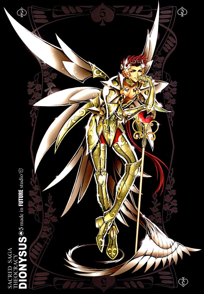 Sacred Sage Art Collection 5-Dyonysus