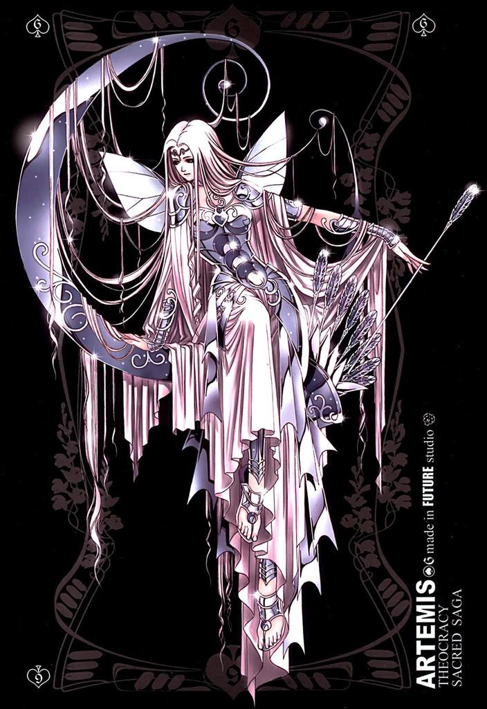 Sacred Sage Art Collection 6-Artemis