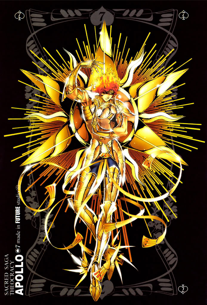 Sacred Sage Art Collection 7-Apollo