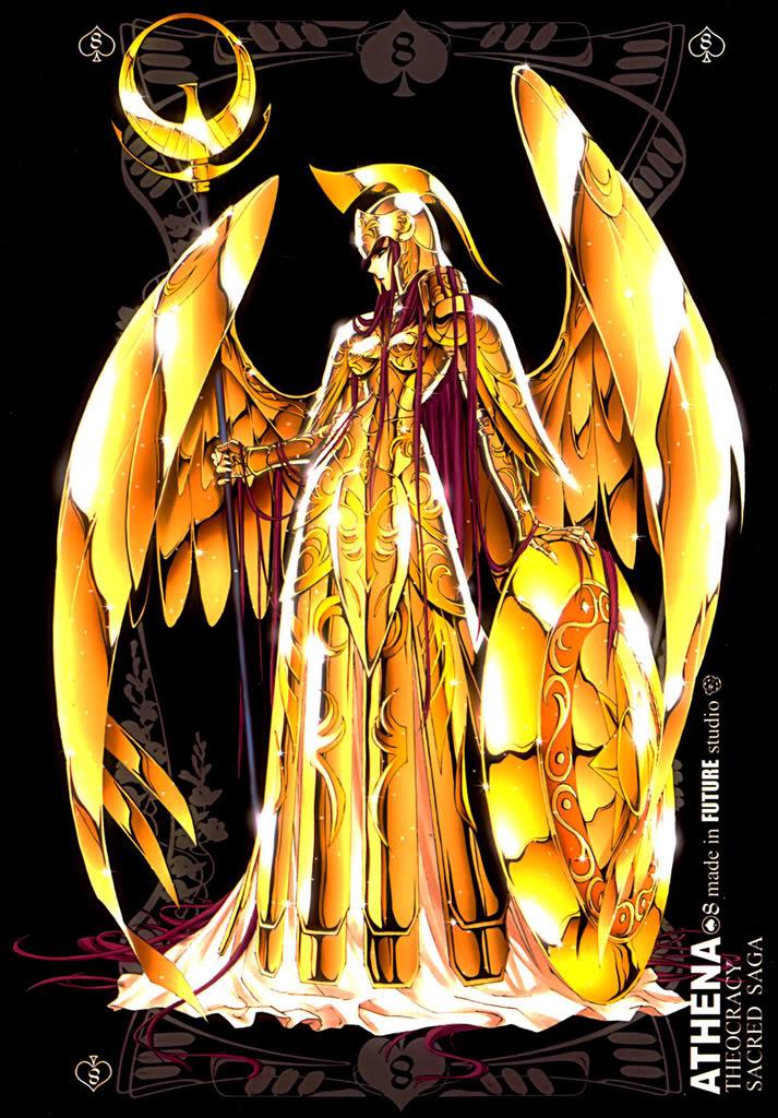 Sacred Sage Art Collection 8-Athena