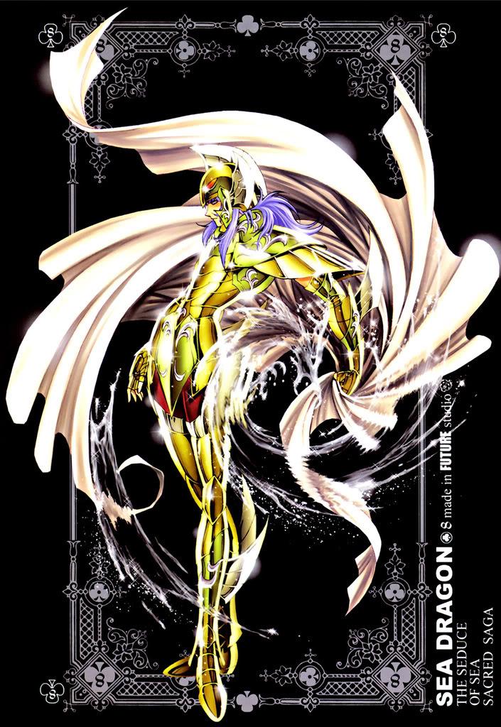 Sacred Sage Art Collection 8-SeaDragon