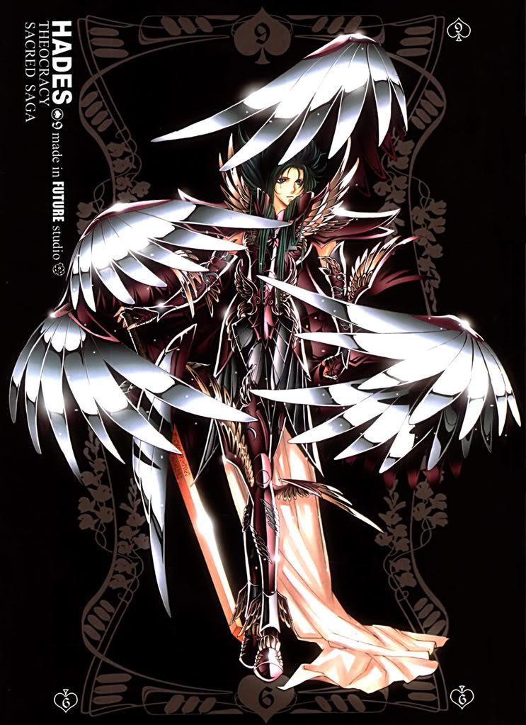 Sacred Sage Art Collection 9-Hades