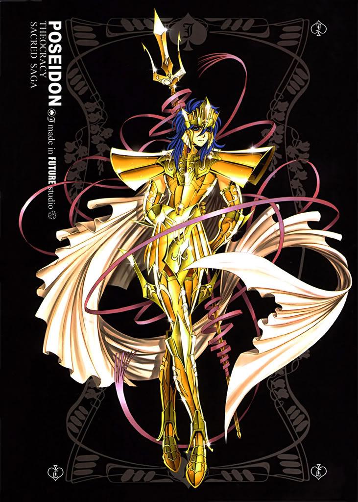 Sacred Sage Art Collection J-Poseidon