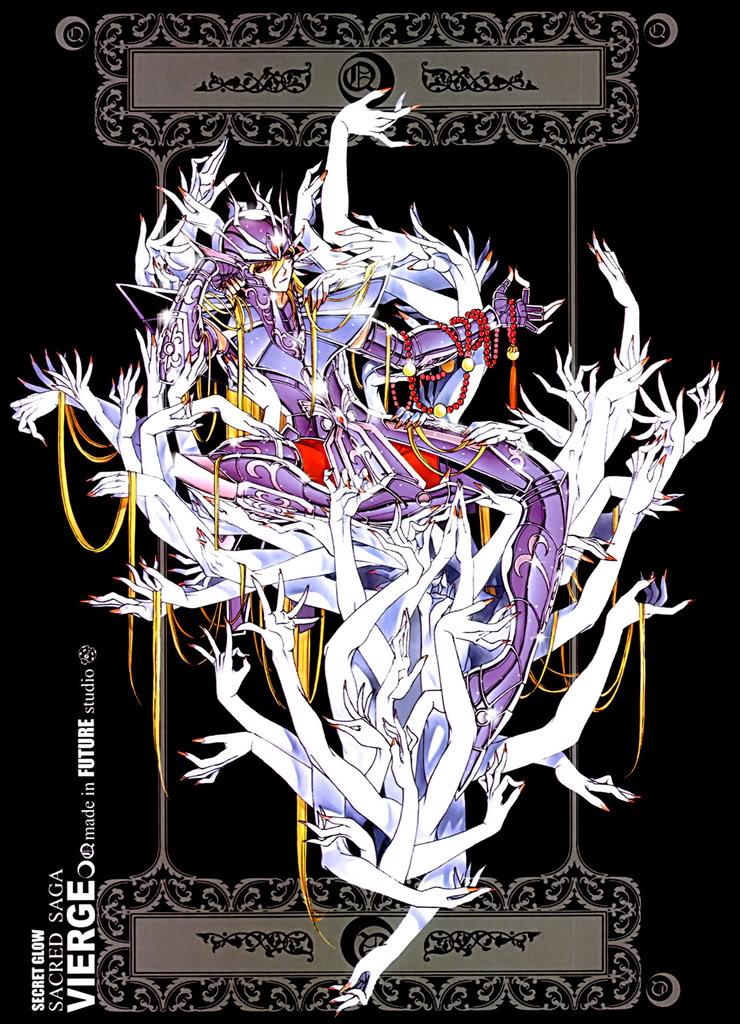 Sacred Sage Art Collection Q-Vierge2