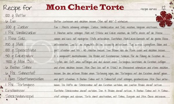 Layouts/Projects and Links by Tanja Mon-Cherie-Torte