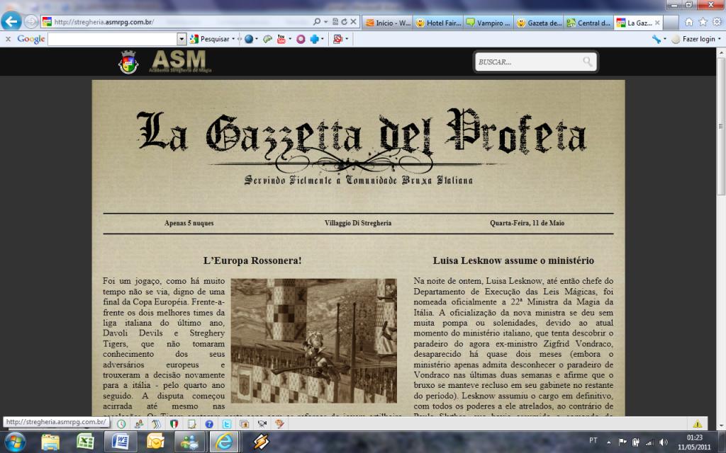 Cor de fundo numa página HTML Exemplo3